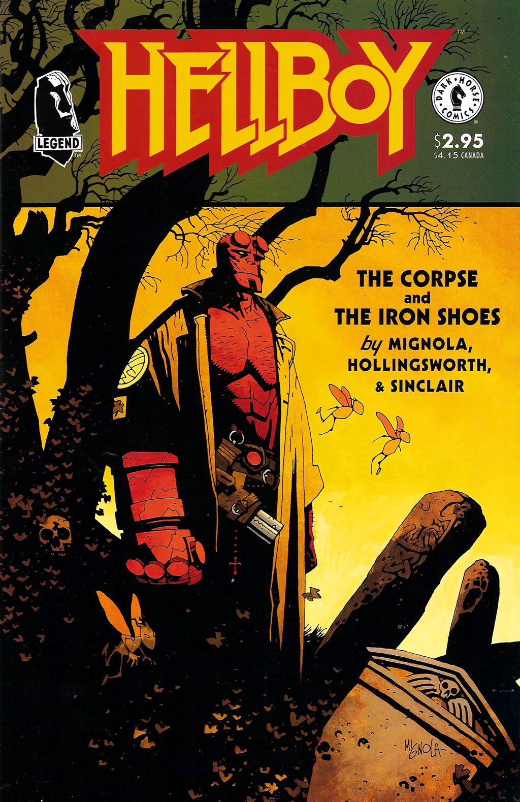 Hellboy - The Corpse and the Iron Shoes 01 (1996) 00cover