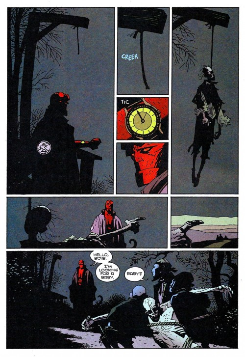Hellboy - The Corpse and the Iron Shoes 01 (1996) 06